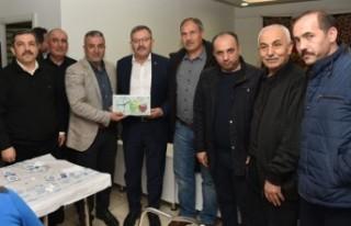 Başkan Aydın, Malatya'daki Kahramanmaraşlılarla...