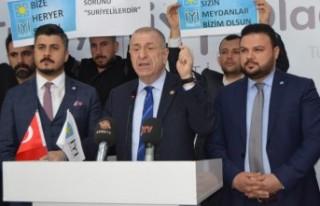 Özdağ; Bunlar, Türk Halkının Gerçekleri Öğrenmesinden...