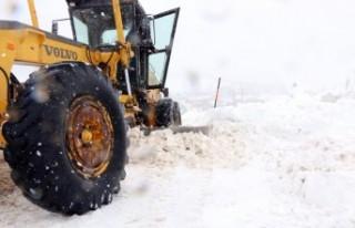 Büyükşehir Karla Mücadele Ekipleri İşbaşında