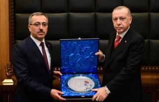 Cumhurbaşkanı Erdoğan, Kahramanmaraş Büyükşehir...