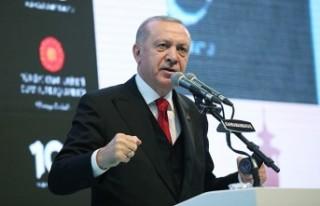 Cumhurbaşkanı Erdoğan, Kahramanmaraş'tan AB'ye...