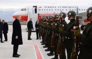 Cumhurbaşkanı Erdoğan'a Kahramanmaraş'ta Sevgi...