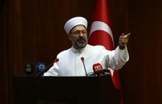 Diyanet İşleri Başkanı Erbaş, Kahramanmaraş'ta...