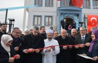 Diyanet İşleri Başkanı Erbaş Pazarcık'ta Yurt...