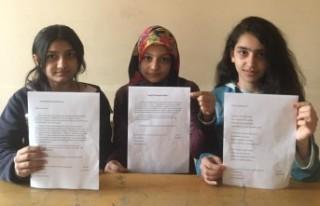 İdlib Şehitlerine Öğrencilerden Mektup Var