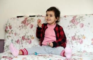 İki Yaşındaki Ecem Naz, Kalp Bekliyor