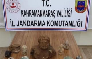 Kahramanmaraş'ta Tarihi Eser Niteliğinde 10...