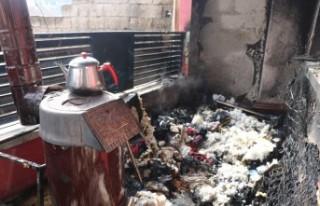 Kahramanmaraş'ta Ev Yangını 1'i Ağır 4 Yaralı