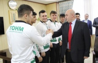 Öğrenciler Türkiye Şampiyonası İçin Vize Aldı