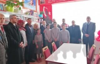 Şehit Serkan Bursalı'nın Adı Kütüphanede Yaşatılacak