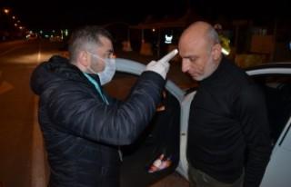 Kahramanmaraş'a Giriş Yapan Vatandaşlar Sağlık...