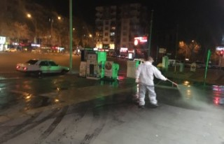 Kahramanmaraş Büyükşehir Belediyesinden Dezenfekte...