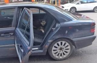 Kahramanmaraş'ta Açık Kapıdan Otomobile Giren...