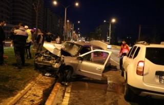 Kahramanmaraş'ta Trafik Kazası: 1 Ağır 4 Yaralı