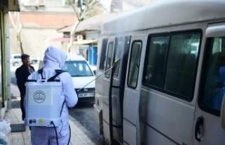 Kırsal Mahallelerde Dezenfekte Çalışmaları Sürüyor