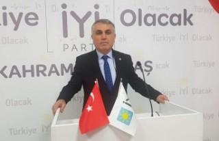 Tekerek, İYİ Parti Dulkadiroğlu Başkan Adaylığını...