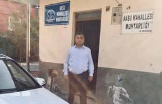 Aksu Mahallesi Muhtarından Başkan Güngör'e Teşekkür