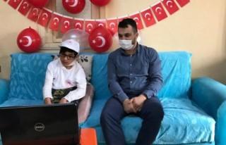 Bakan Pakdemirli Afşinli Furkan Ardıç'la Görüştü