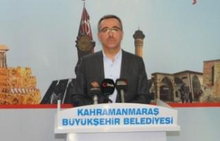 Kahramanmaraş Büyükşehir Belediyesinden Esnafa...