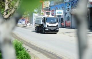 Dulkadiroğlu Belediyesi Sanayi Sitesine Özel Dezenfekte...