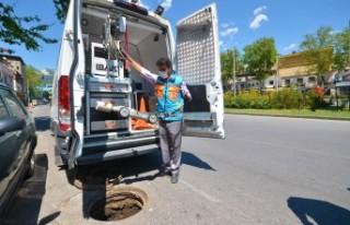 Kahramanmaraş'ın Kanalizasyon Altyapısı Temizleniyor