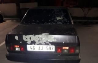 Kahramanmaraş'ta Otomobiline Silahlı Saldırı...