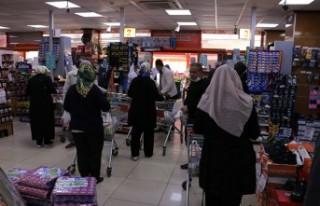 Kahramanmaraş'ta Marketlerde Ramazan Yoğunluğu