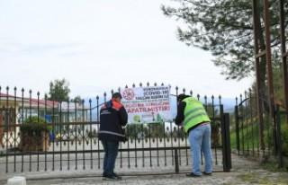 Parklar ve Mesire Alanları Kapatıldı