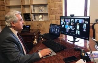 Rektör Can, KSÜ'de Eğitim Gören Yabancı Uyruklu...