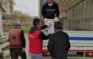Elbistan'da Gıda Yardımları İhtiyaç Sahiplerine...