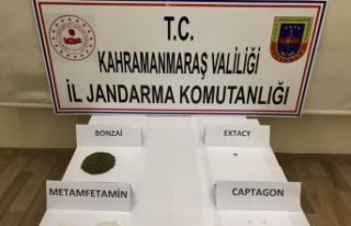 Kahramanmaraş'ta Uyuşturucu Operasyonunda 8...