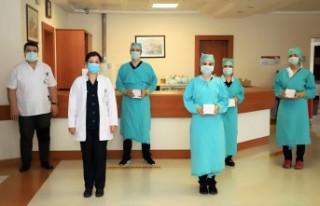 SANKO Üniversitesi Hastanesi Yönetiminden Hemşirelere...