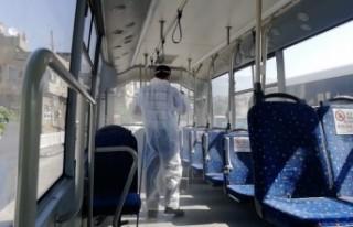 Toplu Taşımada Koronavirüs Tedbirleri Titizlikle...