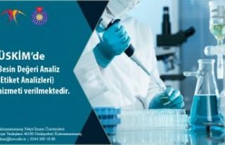 Kahramanmaraş'ta ÜSKİM'de Besin Analizleri...