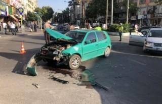 Kahramanmaraş'ta Trafik Kazası! 1 Çocuk Yaralandı