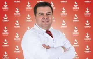 Dr. Mustafa Tanrıverdi SANKO'da Hasta Kabulüne...