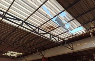 Kahramanmaraş'ta 1 İşçi Çatıdan Düştü