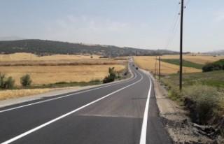 KMBB Yol Çizgilerini Yeniliyor