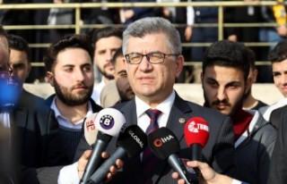 Milletvekili Aycan, Çağlayancerit'in Sosyal Konut...