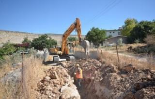 Evri Mahallesinde İçme Suyu Çalışmaları Tamamlandı