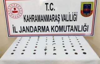 Kahramanmaraş'ta Tarihi Eser Satmaya Çalışan...