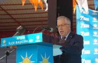 AK Parti Afşin İlçe Başkanı İsmail Safi Güven...