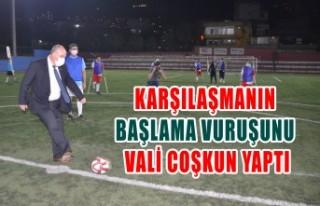 Ampute Futbol Takımı Ve Siyasetçiler Yeşil Sahada...