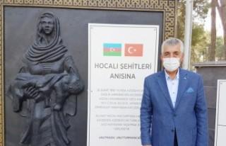 Başkan Kolutek: Karabağ Türk'ündür, Öyle de...