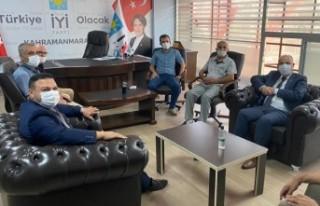 Vali Coşkun'dan İYİ Partiye Ziyaret