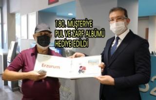 180. Müşteriye Pul ve Zarf Albümü Hediye Edildi