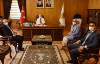 DEVA Partisi'nden Vali Coşkun'a Ziyaret