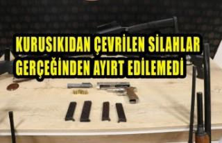 Kahramanmaraş'ta Silah Tamiri Yapan İş Yerlerine...