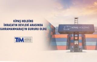 Kipaş Holding Türkiye'nin En Çok İhracat Yapan...