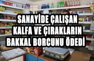 Sanayide Çalışan Kalfa ve Çırakların Bakkal...